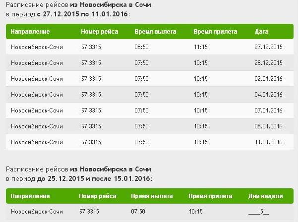 Расписание рейсов аэропорта ГорноАлтайск